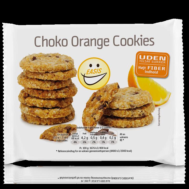 EASIS Cookies med appelsinsmak 132g