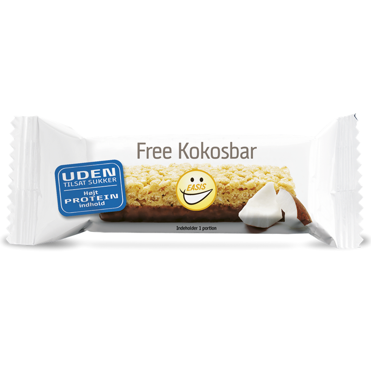 Protein bar coconut flavour