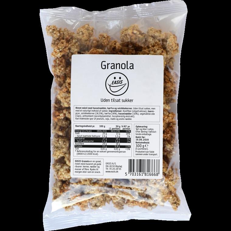 EASIS Granola med linfrø