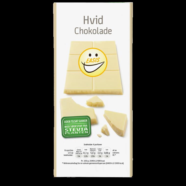EASIS Hvit sjokolade 85 g