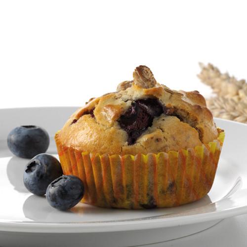 God Morgen Muffins med blåbær