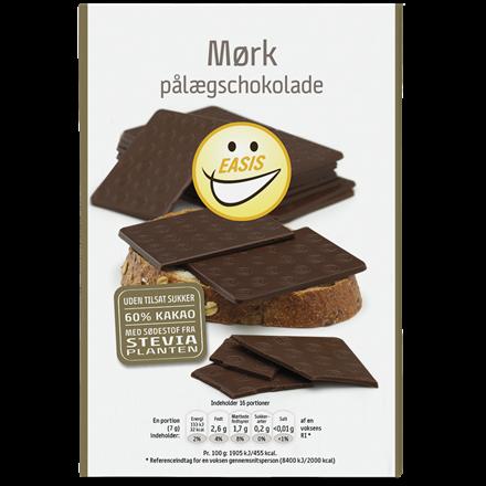 EASIS Dark chocolate plates