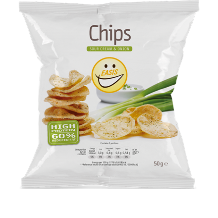 ISIS Chips Sour Cream - Onion 50 g