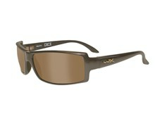 DICE Polarized Brown<br />Metallic Brown Frame