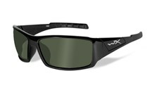 TWISTED Polarized Smoke Green<br />Gloss Black Frame