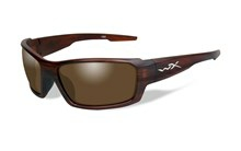 REBEL Polarized Bronze<br />Matte Layered Tortoise Frame