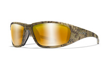 BOSS Pol Amber Gold Mirror<br />Kryptek Highlander Frame