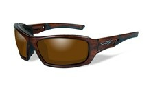 ECHO Polarized Amber<br />Matte Layered Tortoise Frame