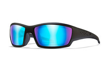 TIDE Polarized Blue Mirror<br />Gloss Black Frame