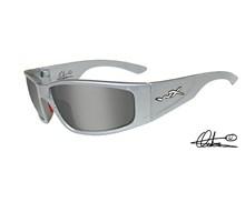 ZAK Smoke Silver Flash<br />Silver Metallic Frame