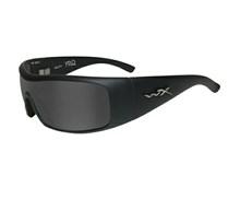 FRQ Polarized Smoke Grey<br />Matte Black Rubber Touch Frame