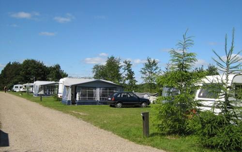 Sæsonplads på Fårup Sø Camping