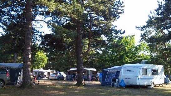 Galløkken Strand Camping, hyggelig retroplads
