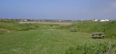 Til de mere friske findes også teltpladser med panoramaview.