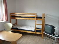 Bunk bed in room type 2