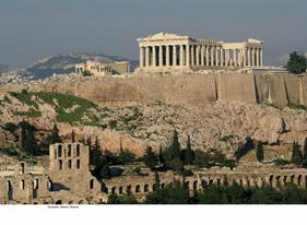 Acropolis i Athen