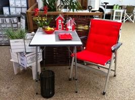 Linea-S bordet fra DCT med Baja-stolen fra Westfield