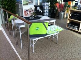 Smart picnicsæt med bord, 2 bænke og 2 klapstole til kr. 999,-