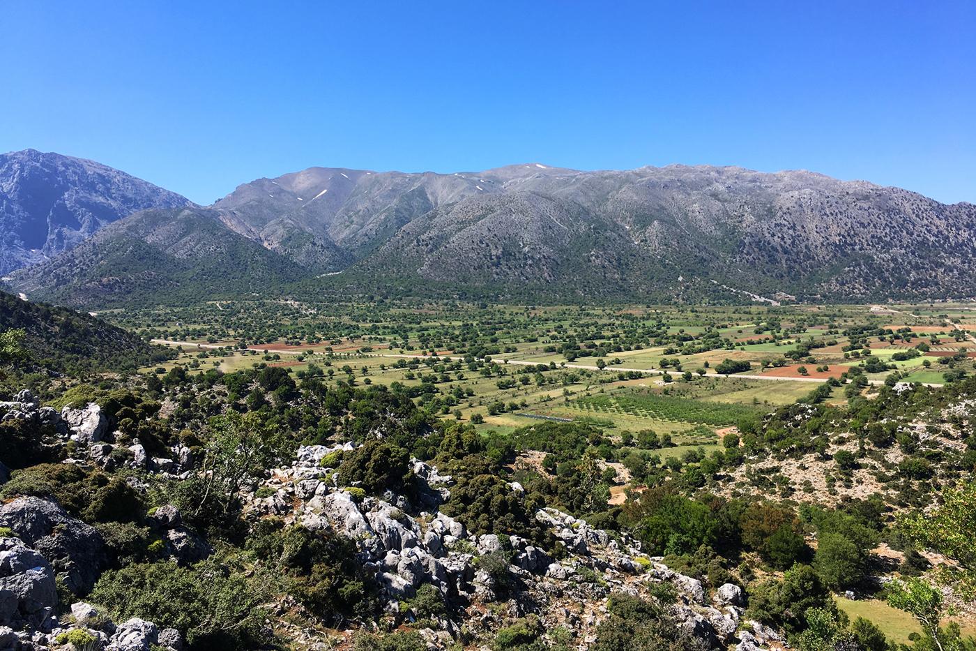 bjerge i grækenland