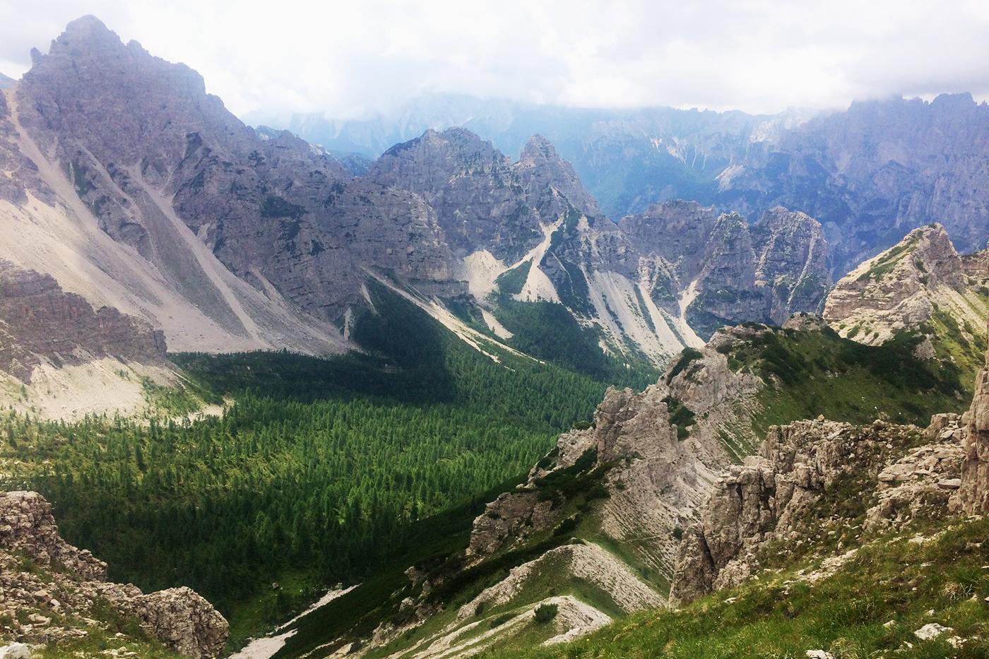 Rejser Til Italien Fra Hytte Til Hytte I Dolomitterne