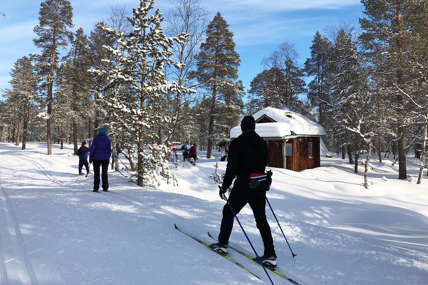 63556a44b Rejser til Finland - Langrend og vintereventyr i Lapland