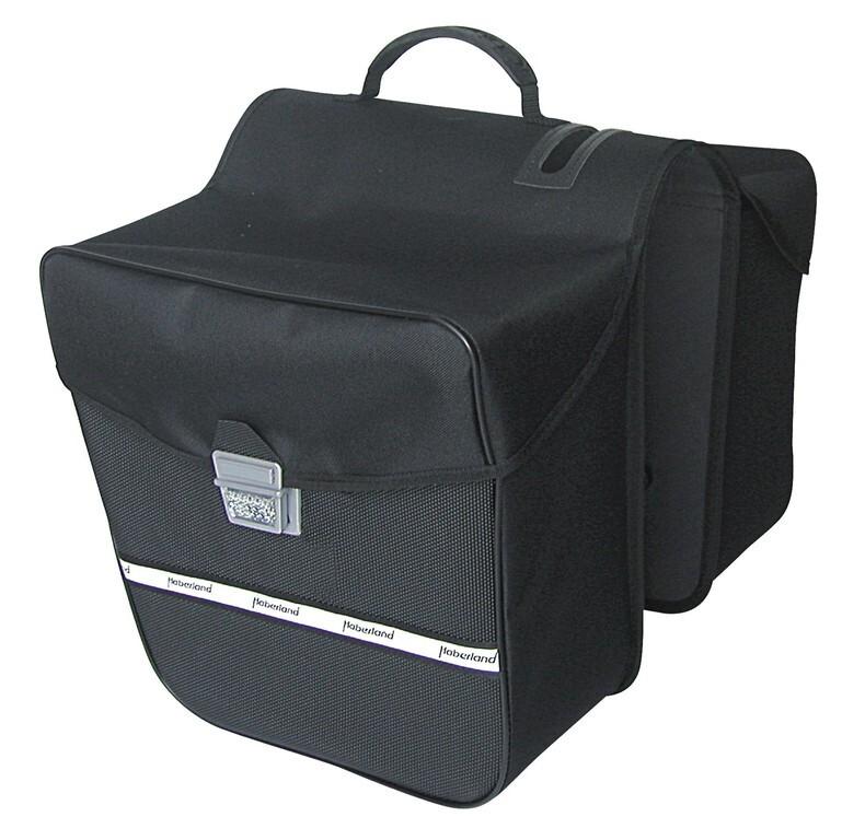 Haberland Dobbelt Sidetaske E-Bike - Bag | Rygsæk og rejsetasker