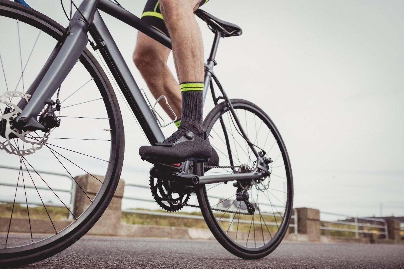 Indoor bike sko