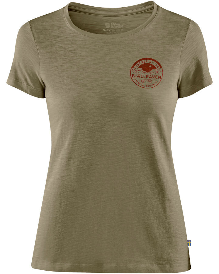 Fjällräven Forever Nature Badge T shirt W.