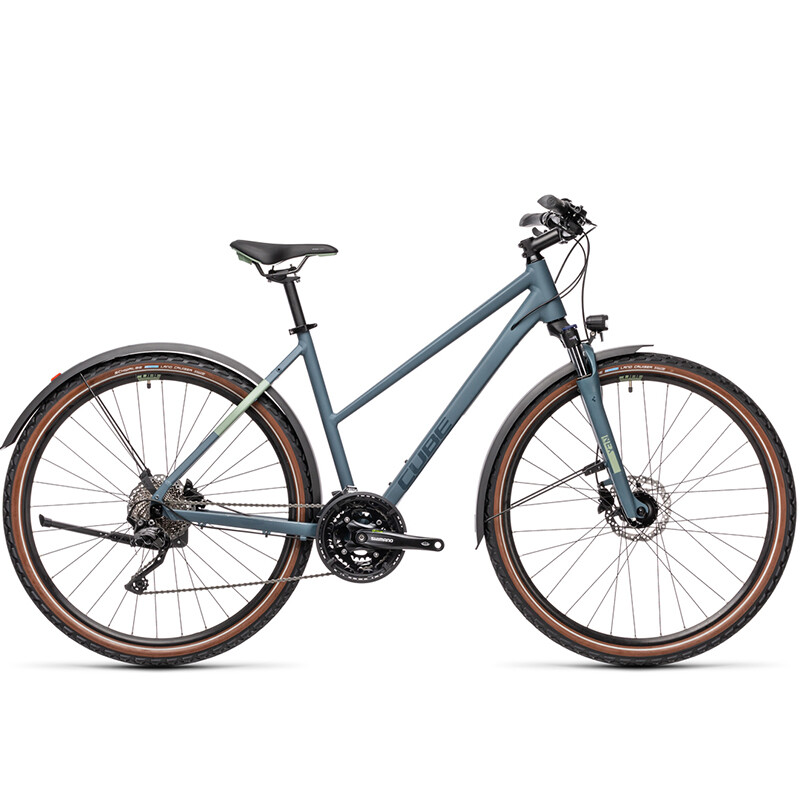Cube Nature Pro Allroad Dame - 2021   city-cykel
