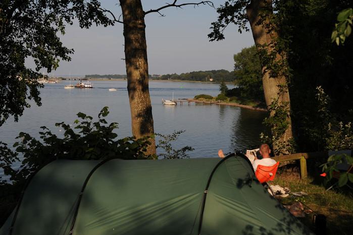 Camping har højstatus