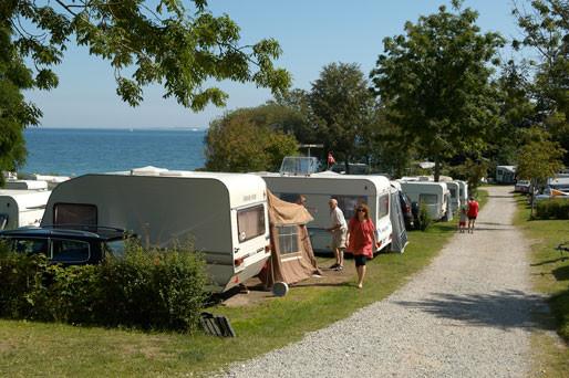 Campingvogn på ferien