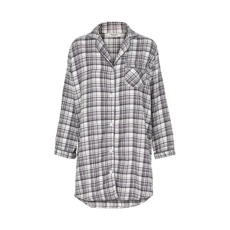 MISSYA PARKER FLANNEL LONG SHIRT