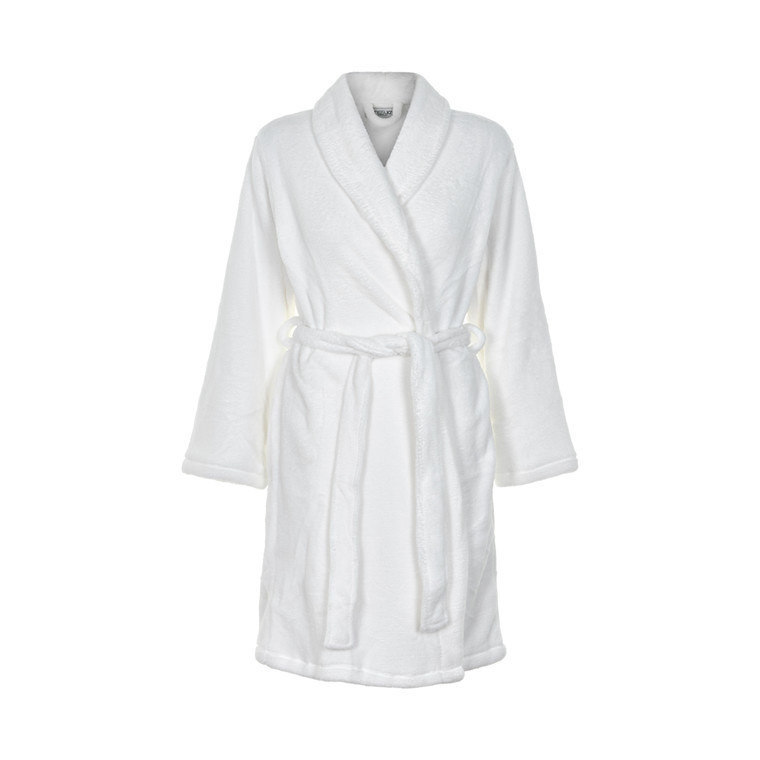 MISSYA CORNFLOCKER FLEECE ROBE SHORT