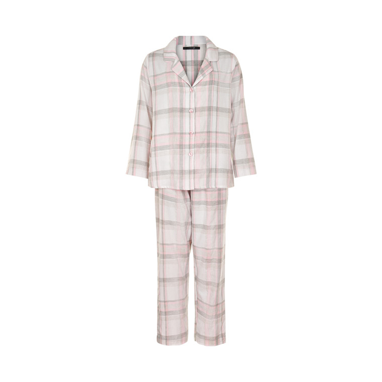 MISSYA CHECK FLANNEL PYJAMAS 14487