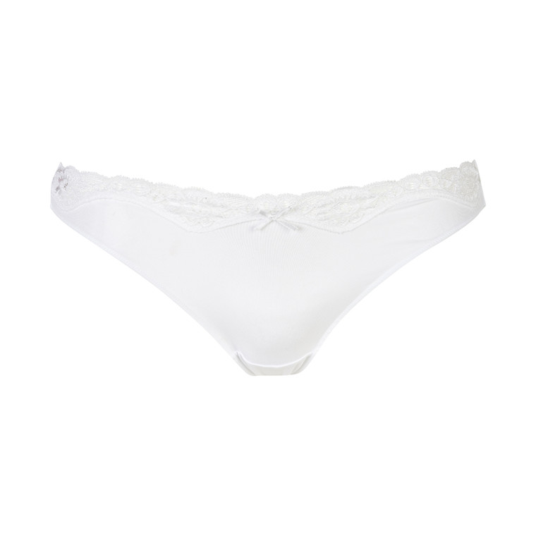 TRIUMPH BRIEF MICRO AND LACE STRING