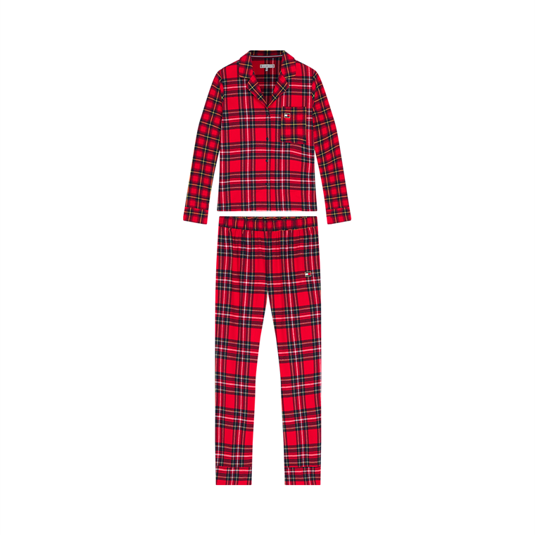 TOMMY HILFIGER FULL FLANNEL PYJAMAS 02573 0QL