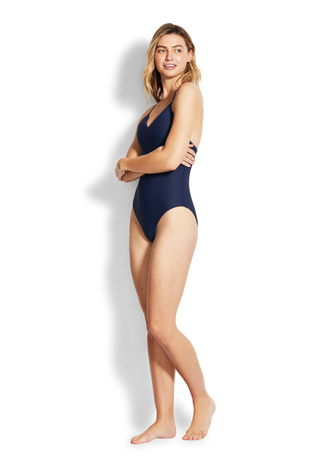 Seafolly SUMMERSEA NECK MAILLOT BADEDRAGT 10935-750
