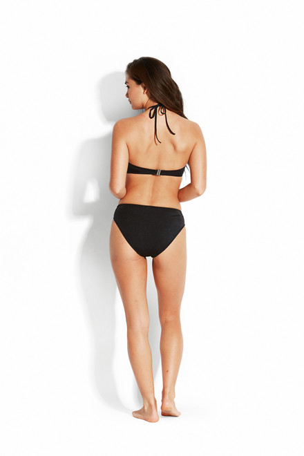 Seafolly Shine On Pants Trusse Sort 40508-499