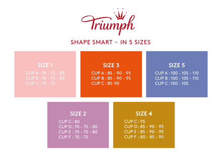 TRIUMPH SHAPE SMART BRA BH 10209594 0004