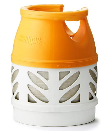 Kosangas 5 kg letvægtsflaske komposit - UDEN GAS