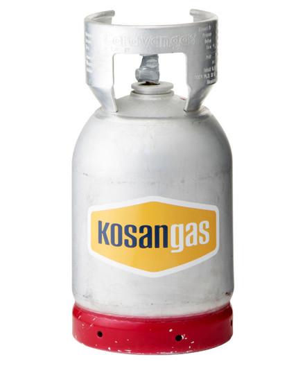 Kosangas 6 kg alu flaske (caravan) - UDEN GAS