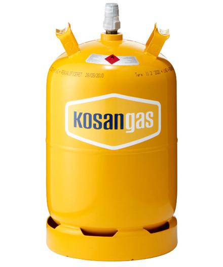 Kosangas 11 kg stålflaske - UDEN GAS