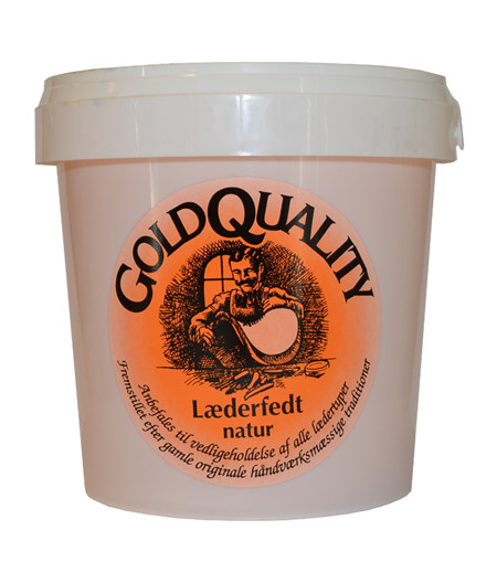 GoldQuality læderfedt klar - 1000 ml