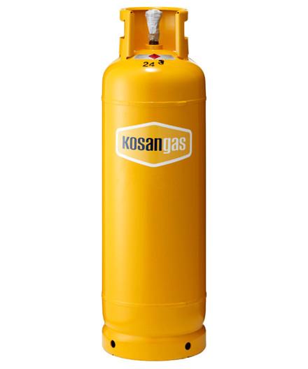 Kosangas 22 kg stålflaske - UDEN GAS