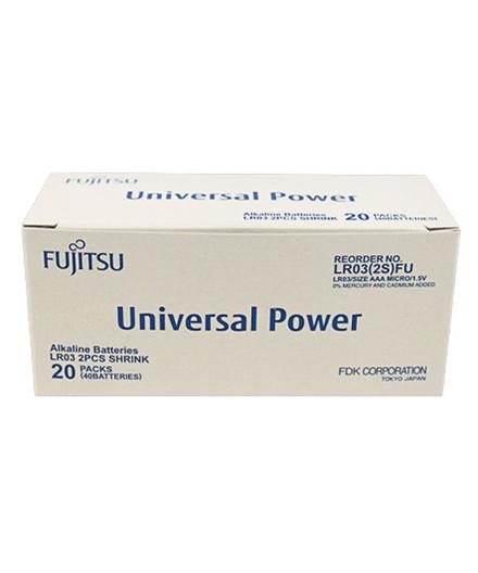 Fujitsu Universal Power alkaline batterier LR03/AAA 40 stk.