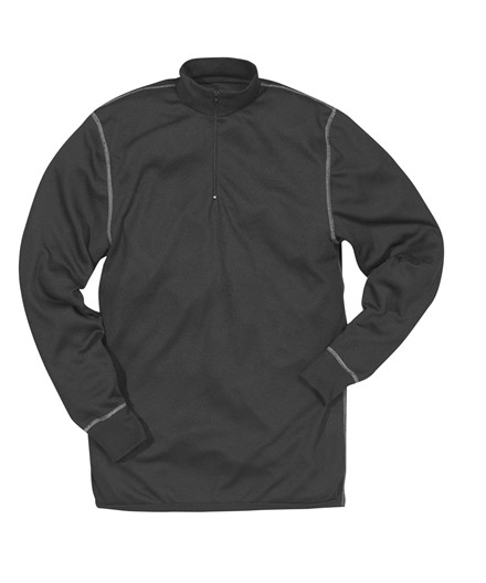 Kansas Match Funktion pullover med lynlås