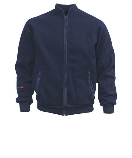Kansas Crafts jakke med fiberpels