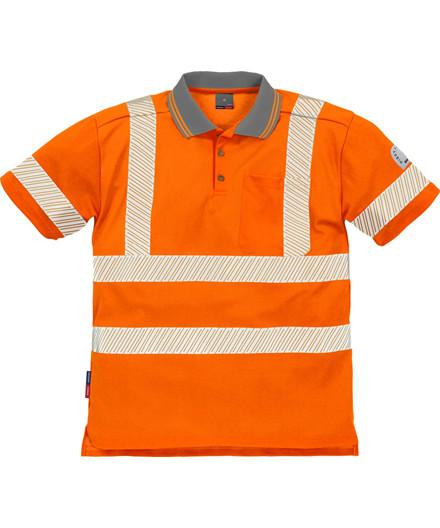 Kansas Hi-Vis Poloshirt m/ reflekstryk
