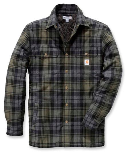 Carhartt Hubbard Sherpa Lined Shirt Jacket