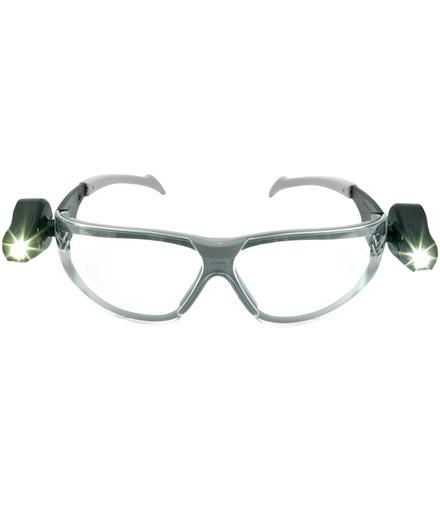 3M natbriller m/ justerbare lysdioder